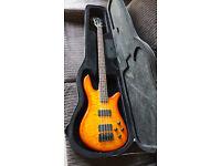 Spector NS2000/4 Q Bass Guitar and Case