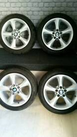 BMW ALLOYS (set of 4 with tyres