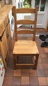 4 farmhouse style chairs for sale