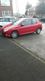 Peugeot 206 low mileage cheap car