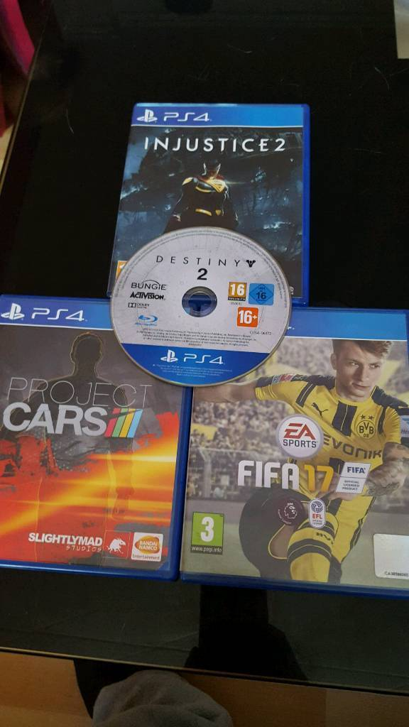 FOR SALE/SWAP 4 PS4 GAMES PERFECT CONDITION CASH£ £65
