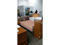 stunning double bed frame and double mattress