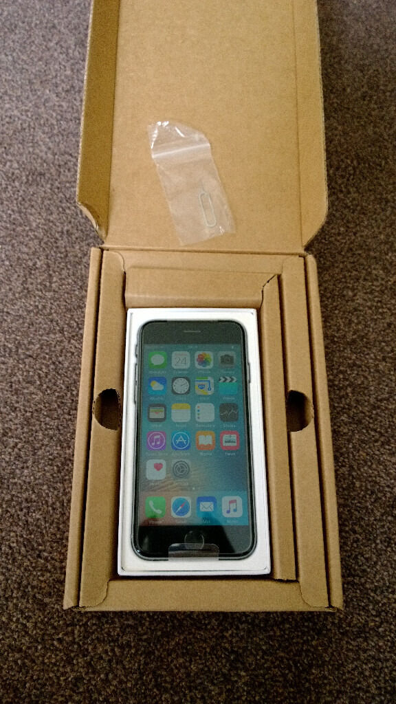 `BRAND NEW APPLE IPHONE 6 16GB SPACE GREY NETWORK UNLOCKED SMARTPHONE! ONLY320in Bournemouth, DorsetGumtree - APPLE IPHONE 6 16GB SPACE GREY NETWORK UNLOCKED. BRAND NEW IN BOX! 16GB HARD DRIVE CAPACITY! IPHONE HAS BEEN SENT FRESH FROM APPLE FACTORY WITH MANUFACTURERS WARRANTY. WHATS INCLUDED APPLE IPHONE 6 16GB SMARTPHONE APPLE IPHONE SIM REMOVAL TOOL APPLE...
