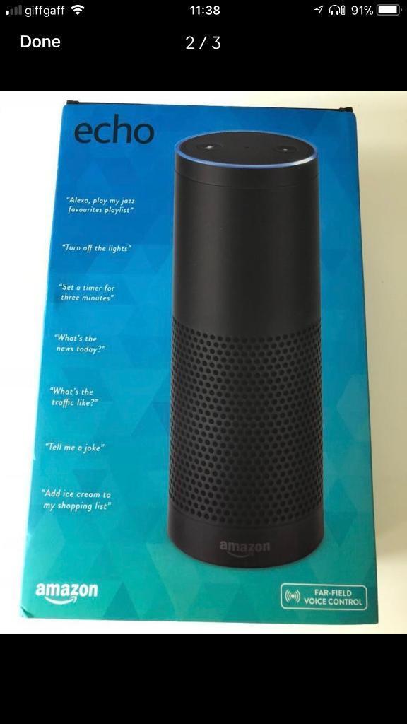 Amazon echo 1st generation tall speaker £150 still