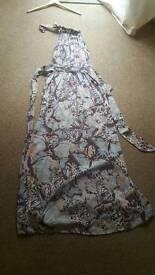 Maxi dress size 8 Dorothy Perkins