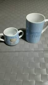 Brand new - FREE Mummy & Baby's Mugs