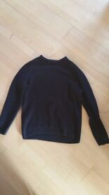 Men's Black Jumper - Size XL