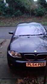 BMW 1 SERIES 1.9 BLACK 5 DOOR
