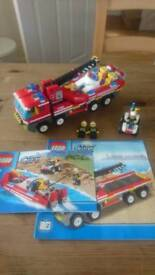 Lego Off-Road Fire Truck and Fireboat