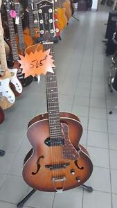 GODIN 5TH AVENUE KINGPIN P90 COGNAC BURST 031986 *neuf