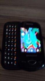 SAMSUNG MOBILE WITH QWERTY KEYPAD