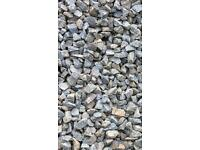 20mm grey garden and driveway chips / stones.