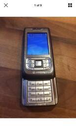 Nokia E65 mobile phone on Vodafone