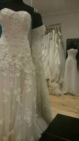 Up to 80% off Ex Samples wedding gowns