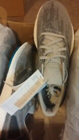 ADIDAS Pureboost DPR Shoes Trainers Grey UK size 8
