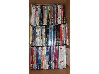Large bundle of 69 assorted original dvds