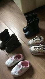 Toddler Girls Boots/Trainers