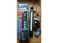 1400l/h external filter & Aquasky LED light