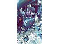 Wk cruiser 125cc motorbike needs some work need gone asap
