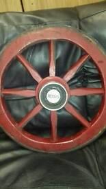Morris fire engine wheel