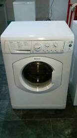 HOTPOINT WASHING MACHINE 1300SPIN 7KG IN PERFECT WORKING ORDER, SERVICED