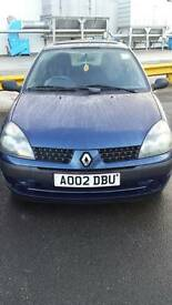 Renault clio 1.2 expression 4 door