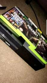 Xbox one with bo1 bo2 gta 5 minecraft and ufc2 swap for ps4