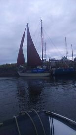 Sailing boat ,falmouth gypsi 24 for sale.