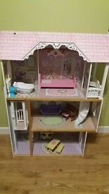 Dolls 3 tier large house