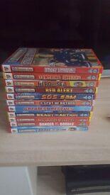 12 fireman sam dvds
