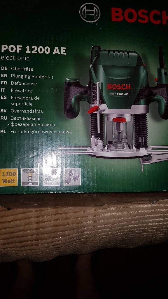 Bosch pof 1200 ae router new in wallsend tyne and wear gumtree bosch pof 1200 ae router new keyboard keysfo Gallery