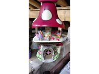 Toadstool playhouse