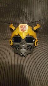 Transformers Bumble bee helmet