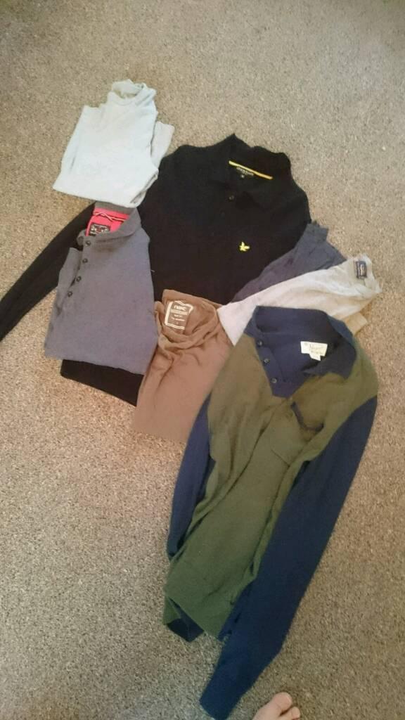 Mens s/m clothes bundle - Penguin, Next, Lyle and Scott