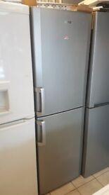 BEKO Tall 6ft Silver Fridge Freezer Frost Free with 4 MONTHS WARRANTY