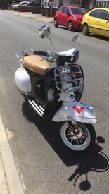 Brand new Lexmoto Milano 125cc