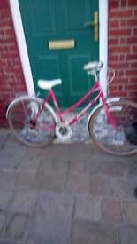 Ladies or girls racing bike 5 gear 1979 excellent condition original very good ride