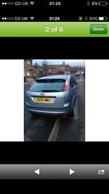 Ford Focus 06 metallic blue ZETEC reduced today no no offers