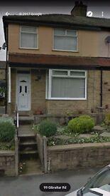 3 bedroom property to rent with garden