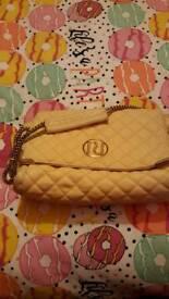 RIVERISLAND cream chain handle bag