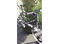 Mens carrera subway two. Hybrid bike. Paid 350 looking for 180