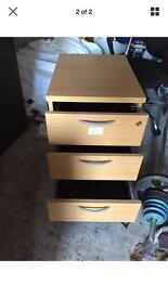 3 Drawer Side Filer Filing Cabinet Office Cabinet
