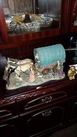 Old fashioned gypsy caravan