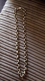 Men's/women's belcher chain for sale. 68grams
