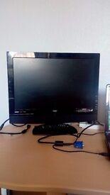 "GOODMANS GTVL19W17HD 19"" LCD TV"