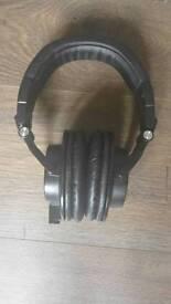 Audio-Technica ATH-M50X Studio Monitor Headphones