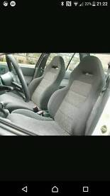 Suzuki swift gti bucket seats