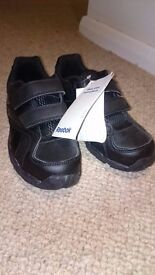 Brand New Black Reebok School Shoes - size 13