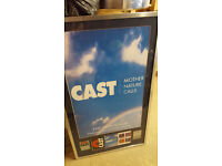 CAST MOTHER NATURE CALLS - FRAMED MUSIC AWARD - AUTOGRAPHED