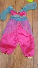 Princess jasmine costume Aladdin! Age 3 - 5
